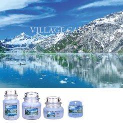 village candle glacial spring ľadový jas