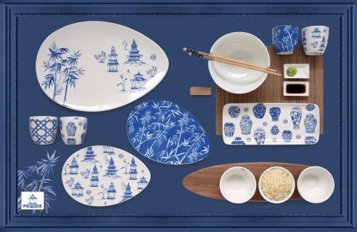 vilen porcelan šálky hrnčeky podnosy taniere sushi