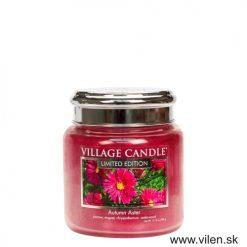 village candle vonna sviečka jesenne kvety