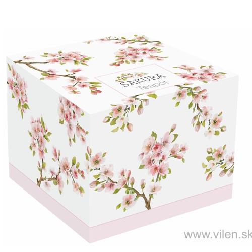 vilen porcelan cajnik 1089 saku box
