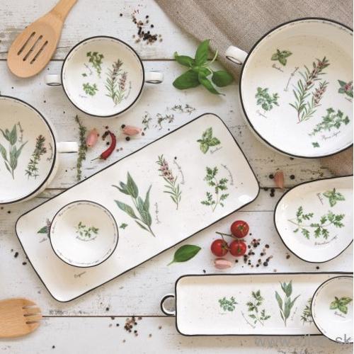 vilen porcelan herbarium kuchynske potreby