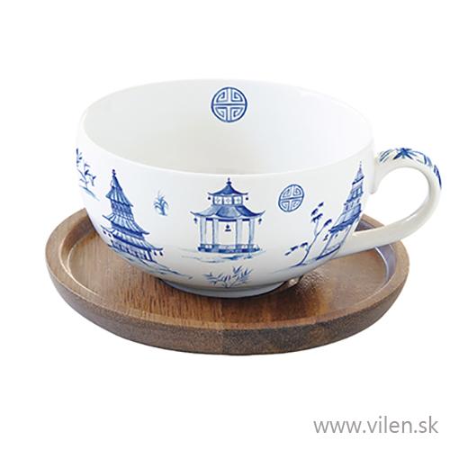 vilen porcelan šálka s podšálkou 1082pagd