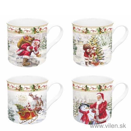 vilen porcelan set hrnčekov 179CHTR 11