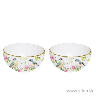 vilen porcelan miska