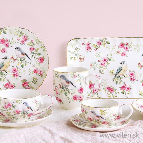 vilen porcelan šálka tanier podnos misa