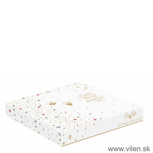 vilen-vianočne misky