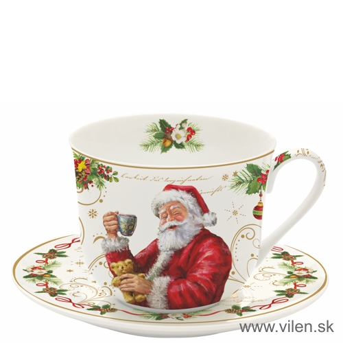 vilen-porcelan-vianočna šalka