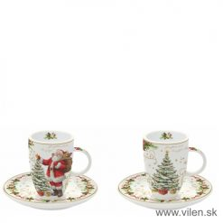 vilen-porcelan-vianočne šalky