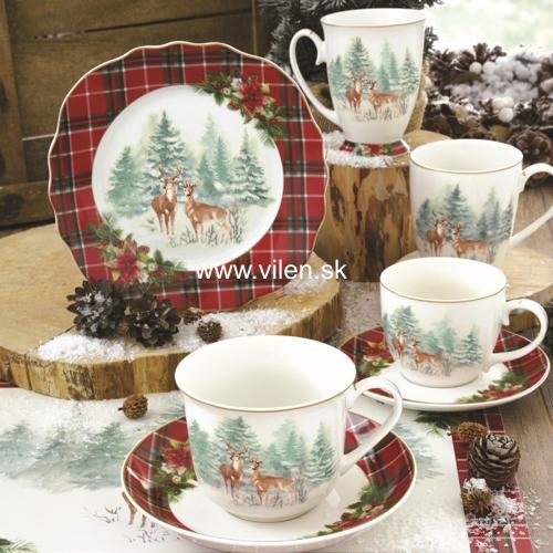 vilen-porcelan-vianočne darčeky winter in forest