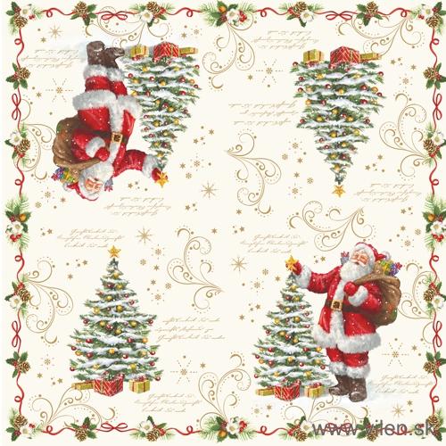 vilen-porcelan-vianočne servitky 414 magi