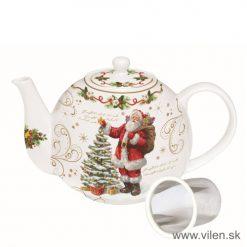 vilen-porcelan-vianočny čajnik