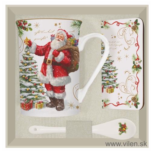 vilen-porcelan-vianočny hrnček čajovy set