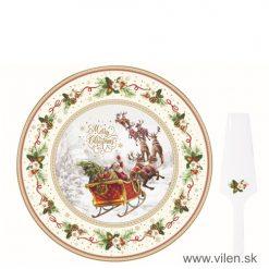 vilen-porcelan-vianočny podnos