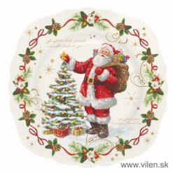 vilen-porcelan-vianočny tanier