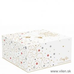 vilen-porcelan-vianocna-šalka s podšalkou