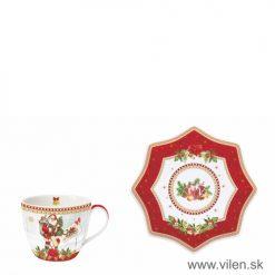 vilen-porcelan-vianocna salka s podšalkou