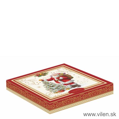 vilen-porcelan-vianocny dezertny tanier 1176magi box