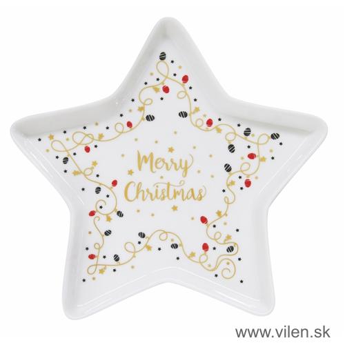 vilen-vianočny podnos