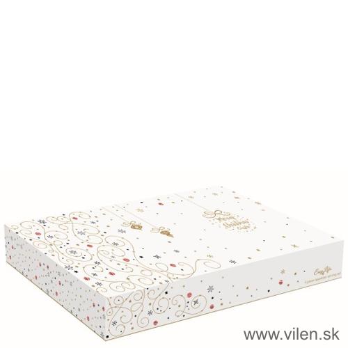 vilen-porcelan-vianocny-podnos s miskami