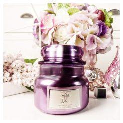 village candle sviečky wild lilacs