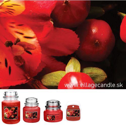 vonna sviečka village candle berry blossom