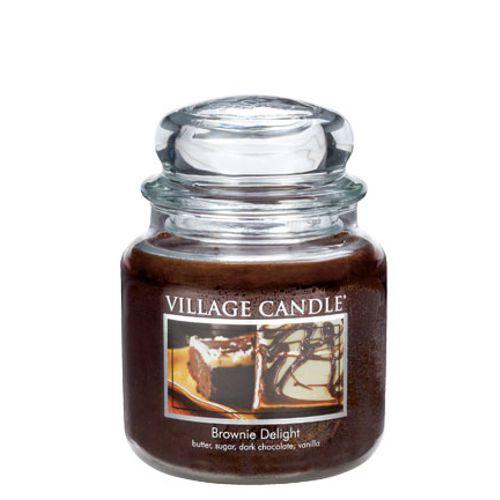 vonna sviečka village candle brownie delight 2