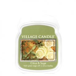 vonna sviečka village candle citrus and sage 1