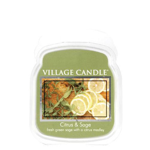 vonna sviečka village candle citrus and sage 1