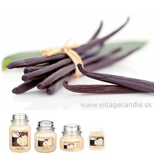 vonna sviečka village candle creamy vanilla