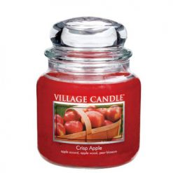 vonna sviečka village candle crisp apple 2