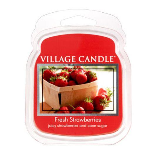 vonna sviečka village candle fresh strawberries 1