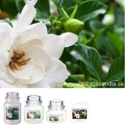 vonna sviečka village candle gardenia 1