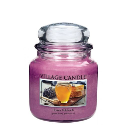 vonna sviečka village candle honey patchouli 1