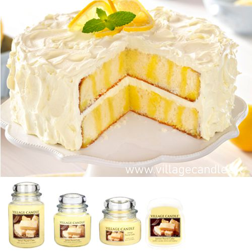 vonna sviečka village candle lemon pound cake 1