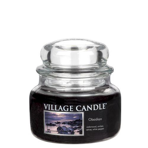 vonna sviečka village candle obsidian 1