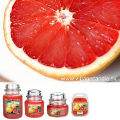 vonna sviečka village candle pink grapefruit 3
