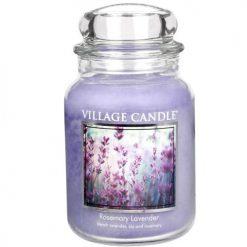 vonna sviečka village candle rosemary lavender