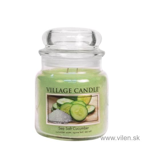 vonna sviečka village candle sea salt cucumber 1