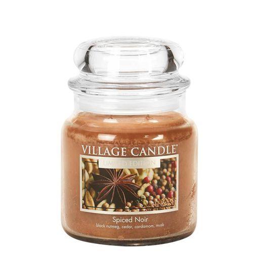 vonna sviečka village candle spiced noir 1
