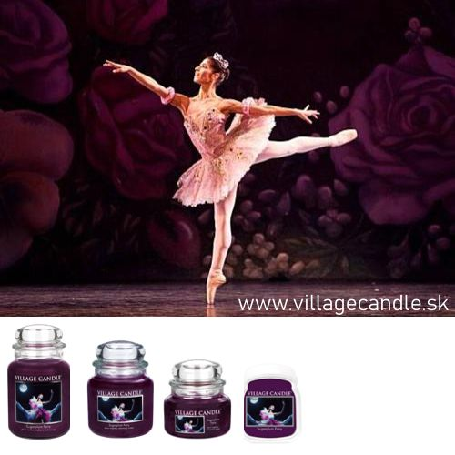 vonna sviečka village candle sugarplum fairy