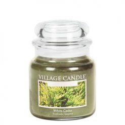 vonna sviečka village candle white cedar 1