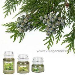 vonna sviečka village candle white cedar 3