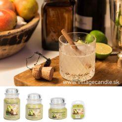 vonny vosk village candle ginger pear fizz 3
